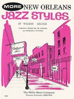More New Orleans Jazz Styles - William Gillock - laflutedepan.com