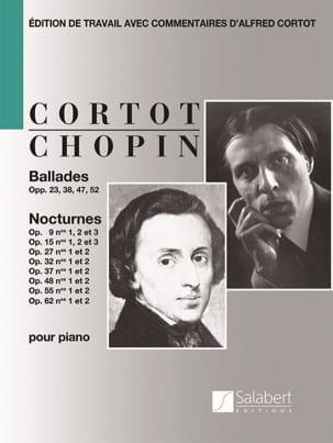 Ballades et Nocturnes CHOPIN Partition Piano - laflutedepan