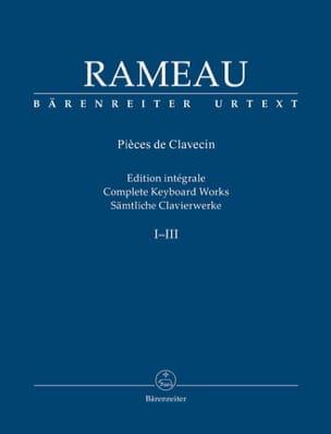 Jean-Philippe Rameau - Oeuvre pour clavier - Partition - di-arezzo.fr