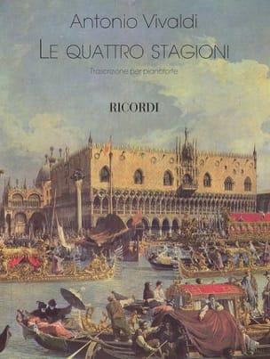 Antonio Vivaldi - Les 4 saisons - Partition - di-arezzo.fr