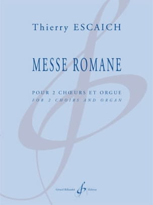 Thierry Escaich - ロマネスク様式 - 楽譜 - di-arezzo.jp