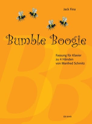 Fina Jack / Schmitz Manfred - Bumble Boogie. 4 mains - Partition - di-arezzo.fr
