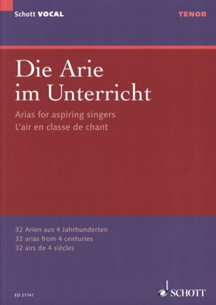 - Die Arie im Unterricht. tenor - Partitura - di-arezzo.es