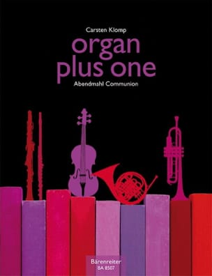 Carsten Klomp - Organ plus one. Communion - Partition - di-arezzo.fr