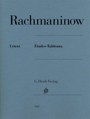 Etudes-tableaux Opus 33, 39 RACHMANINOV Partition Piano - laflutedepan