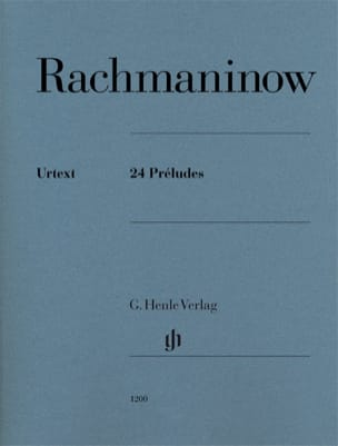 RACHMANINOV - 24 preludi - Partitura - di-arezzo.it
