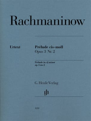 RACHMANINOV - Preludio in Do tagliente Opus 3-2 - Partitura - di-arezzo.it