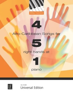 4 Afro-Caribbean songs for 5 right hands at 1 piano - laflutedepan.com