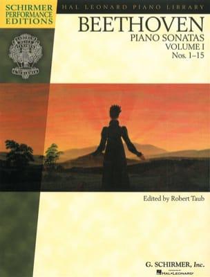 Sonates Volume 1 - BEETHOVEN - Partition - Piano - laflutedepan.com