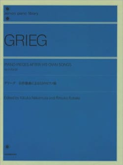 Edward Grieg - Piano pieces after his own songs - Sheet Music - di-arezzo.co.uk