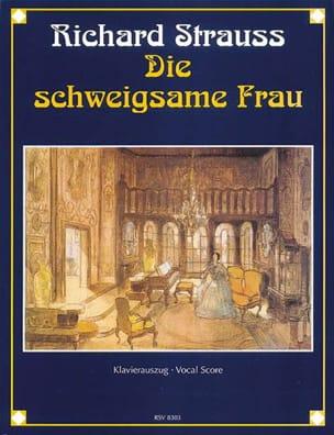 Richard Strauss - Die Schweigsame Frau op. 80 - Sheet Music - di-arezzo.com