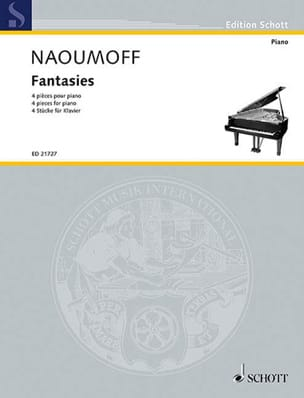 Emile Naoumoff - Fantasies - Partition - di-arezzo.fr
