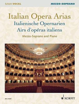 Italian opera tunes. Mezzo-soprano - Partition - di-arezzo.co.uk