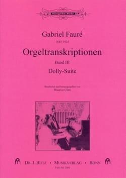 Transcriptions pour orgue Volume 3 FAURÉ Partition laflutedepan