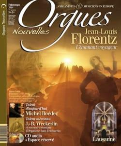 Orgues Nouvelles n° 24 avec CD - Livre - Revues - laflutedepan.com