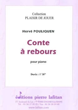 Conte à rebours - Hervé Pouliquen - Partition - laflutedepan.com