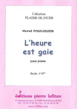 L'heure est gaie - Hervé Pouliquen - Partition - laflutedepan.com