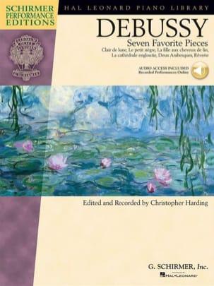 7 pièces favorites - Claude Debussy - Partition - laflutedepan.com
