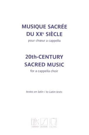 - Sacred music of the 20th century - Sheet Music - di-arezzo.co.uk