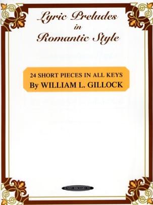 William Gillock - 24 small pieces in all shades - Sheet Music - di-arezzo.com