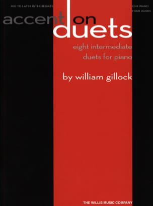 Accent on duets William Gillock Partition Piano - laflutedepan