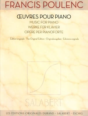 Francis Poulenc - Piano Works - Partition - di-arezzo.it
