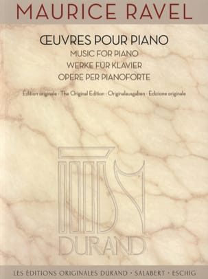 Maurice Ravel - Piano Works - Sheet Music - di-arezzo.co.uk
