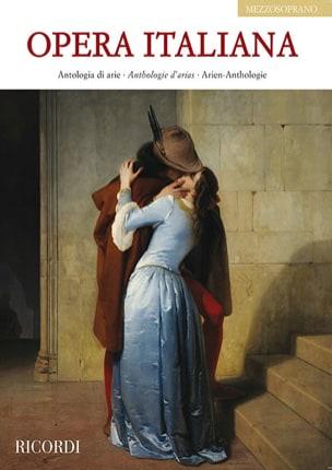Opera italiana. Mezzo-Soprano Partition Opéras - laflutedepan