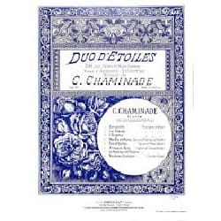 Cécile Chaminade - Duo d'étoiles op. 71-5 - Partition - di-arezzo.fr