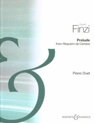 Prélude. 2 pianos - Gerald Finzi - Partition - laflutedepan.com