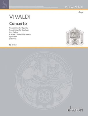 VIVALDI - Concerto in D minor op. 26-9 - Sheet Music - di-arezzo.com