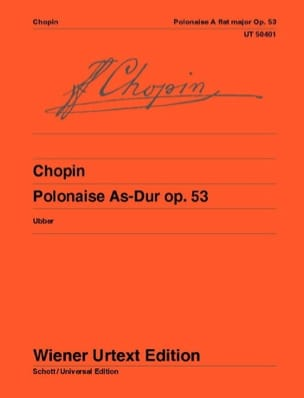 Frédéric Chopin - Polonaise op. 53. - Partition - di-arezzo.fr