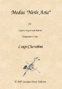 Neris aria. Médée CHERUBINI Partition Basson - laflutedepan