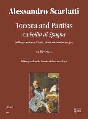 Alessandro Scarlatti - Toccata et Partita sur Follia Spagna - Partition - di-arezzo.fr