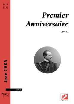Jean Cras - Premier anniversaire - Partition - di-arezzo.fr