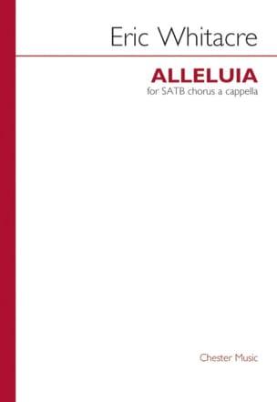 Eric Whitacre - Alleluias - Sheet Music - di-arezzo.com