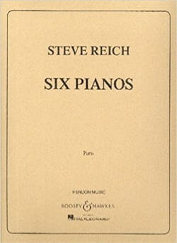 Six pianos Steve Reich Partition Piano - laflutedepan