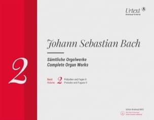 BACH - Sämtliche Orgelwerke Volume 2 Rom - Sheet Music - di-arezzo.com