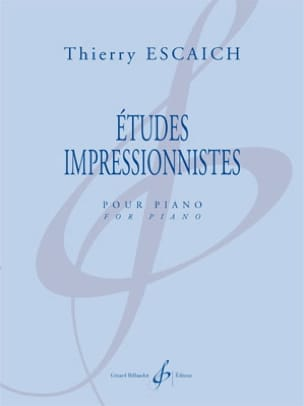 Thierry Escaich - Impressionist studies - Sheet Music - di-arezzo.co.uk