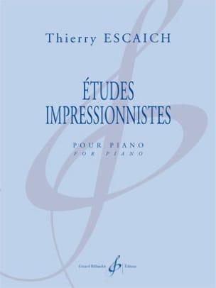 Thierry Escaich - Estudios impresionistas - Partitura - di-arezzo.es