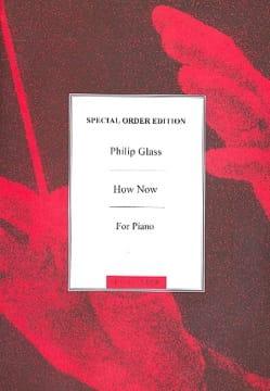 Philipp Glass - How Now - Sheet Music - di-arezzo.com