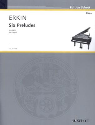 Ulvi Cemal Erkin - 6 préludes - Partition - di-arezzo.fr