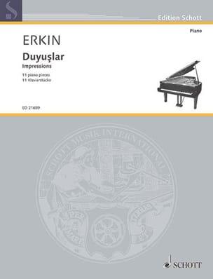 Impressions - Ulvi Cemal Erkin - Partition - Piano - laflutedepan.com