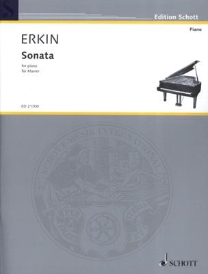 Sonata Ulvi Cemal Erkin Partition Piano - laflutedepan