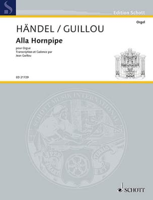 HAENDEL - Alla hornpipe - Sheet Music - di-arezzo.co.uk