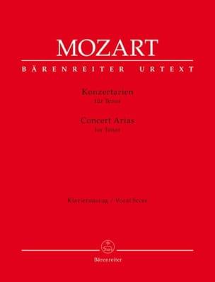 MOZART - Brani per concerti. tenore - Partitura - di-arezzo.it