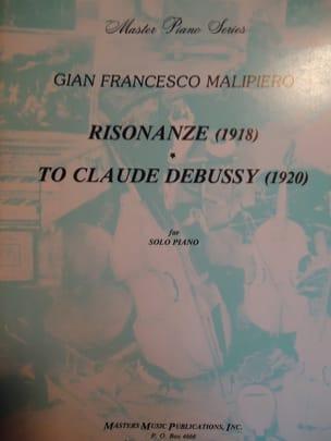 Risonanze: To Claude Debussy Gian Francesco Malipiero laflutedepan