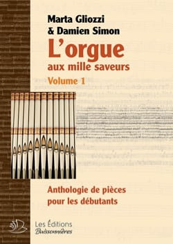 The organ with a thousand flavors. Volume 1. Hardcover - Sheet Music - di-arezzo.com