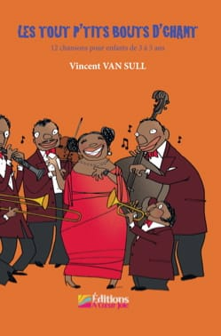 Sull Vincent Van - The little bits of singing with CD - Partition - di-arezzo.co.uk