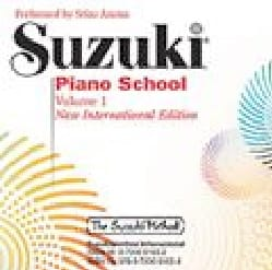 - Suzuki piano school CD Vol. 1 New international edition - Partition - di-arezzo.fr
